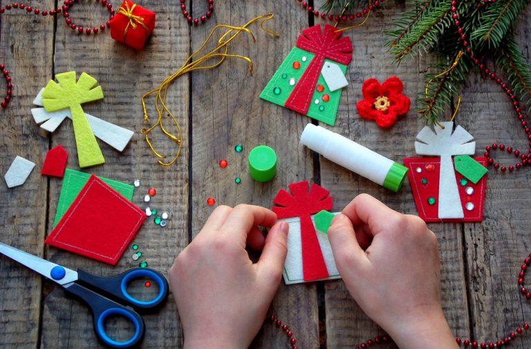 Cum faci decoratiuni de Craciun handmade