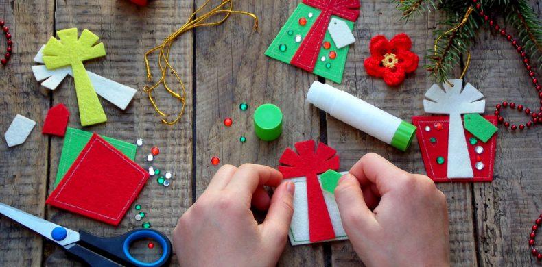Cum faci decorațiuni de Crăciun handmade