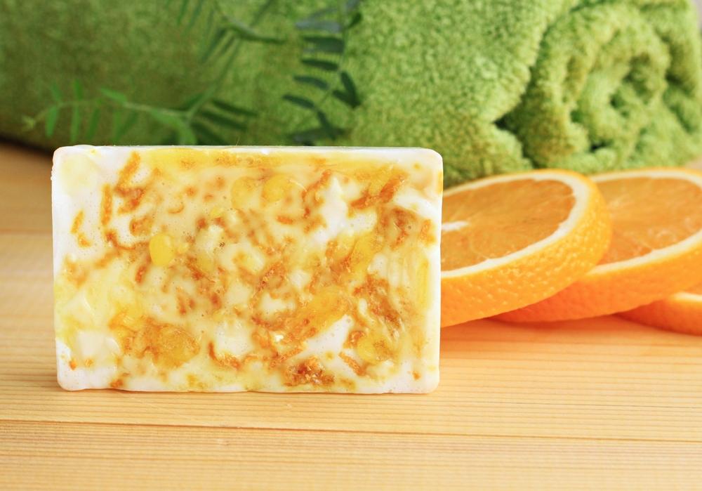 Reteta sapun de casa cu suc de portocale