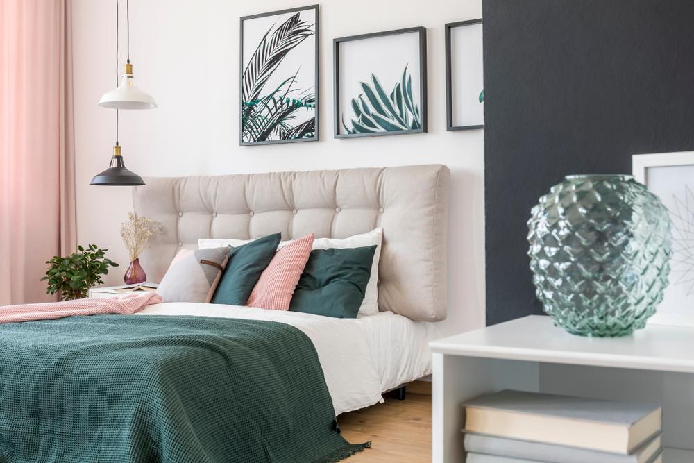 Culori pastelate pentru dormitor