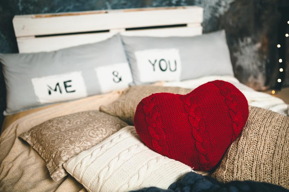 Decor romantic de Valentine's Day