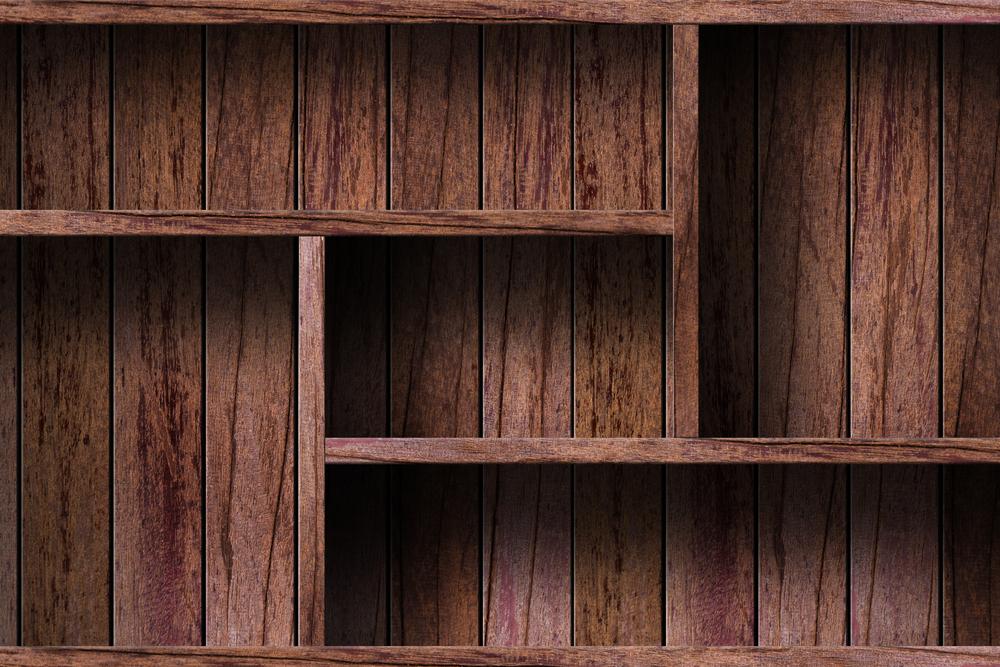 Rafturi din lada de lemn