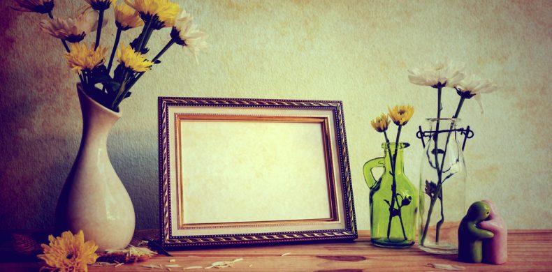Idei creative – în ce poți transforma o ramă veche de tablou