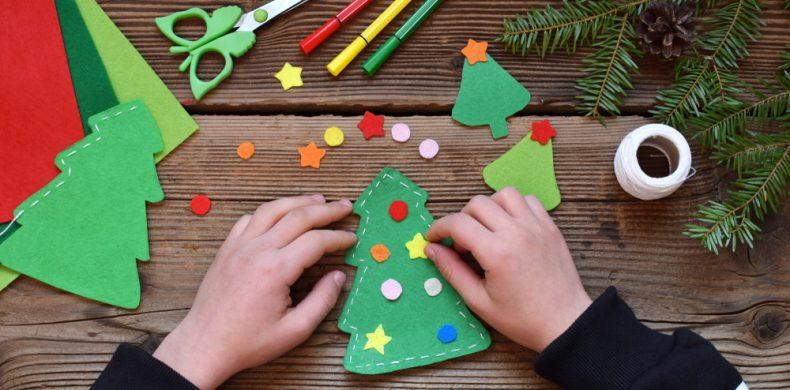 Cum să confecționezi decorațiuni de Crăciun din fetru