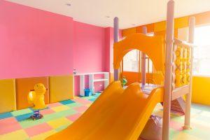 loc de joaca in casa pentru copii