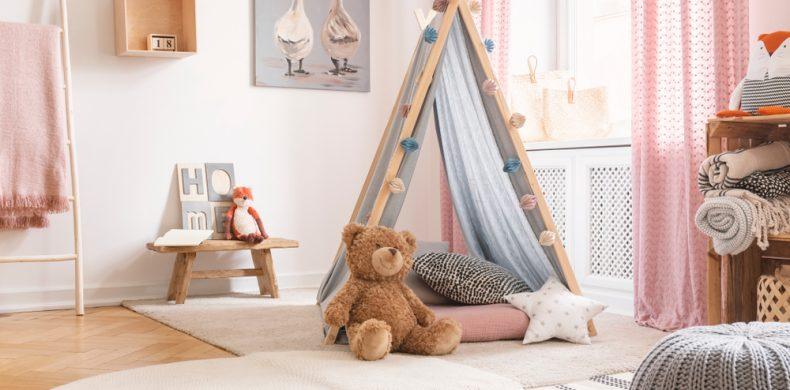 Cum poți transforma orice încăpere în loc de joacă pentru copii