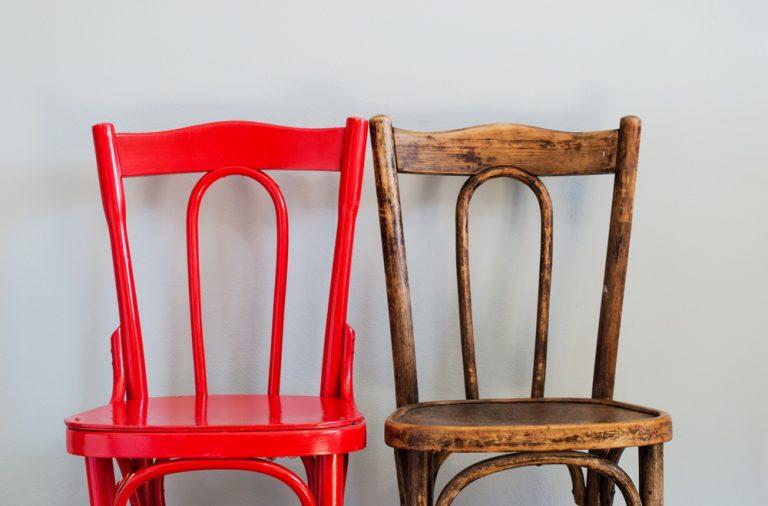 reutilizarea unui scaun vechi