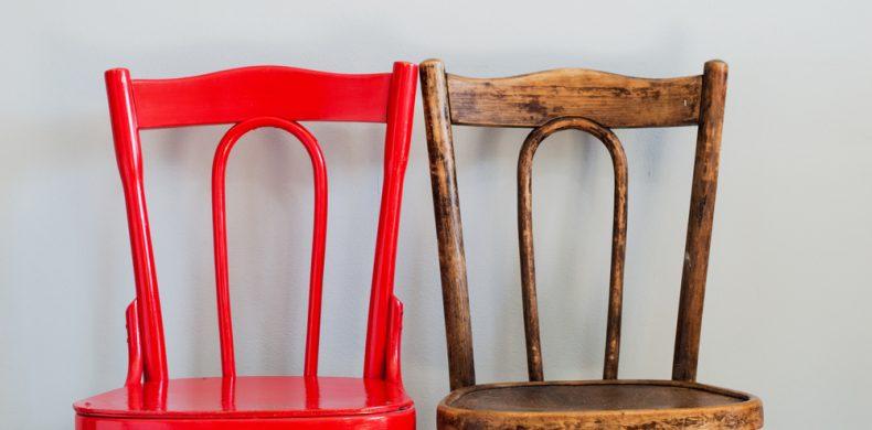 Cum reutilizezi un scaun vechi