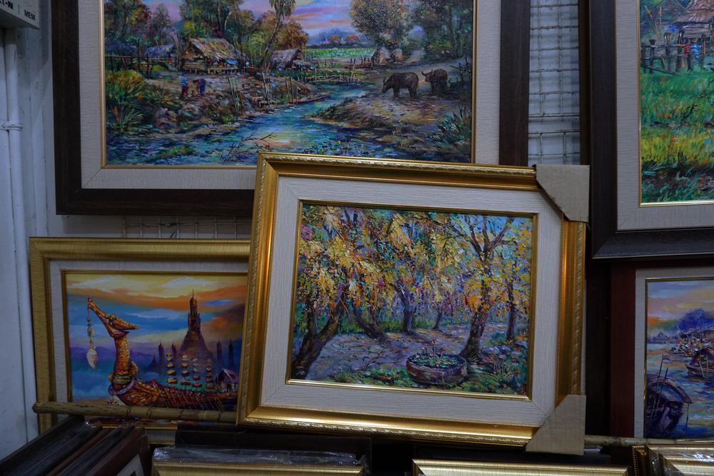 cum se stabileste valoarea unui tablou pictat