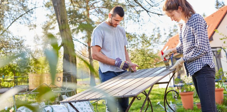 Cinci idei de proiecte DIY pentru amenajarea grădinii