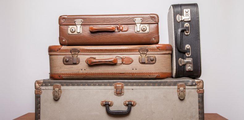 Ce poți face cu o valiză veche